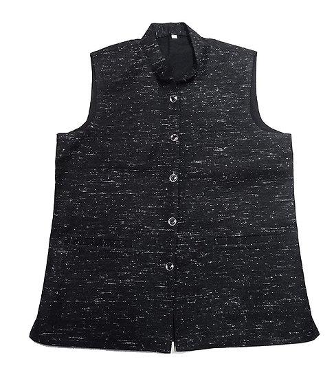Men's Woolen Tweed Bandhgala Nehru Jacket PURE KULLU PATTI