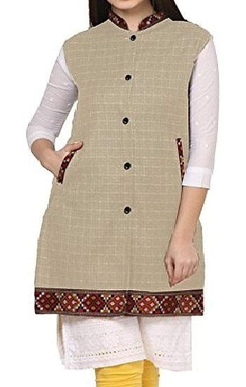 ARUNA KULLU HANDLOOM  Woolen Winter Wear Long Jacket for Women