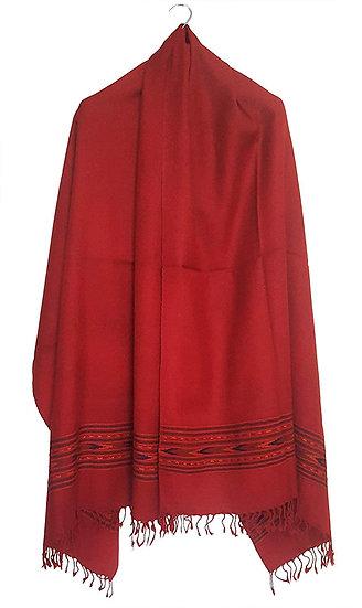 ARUNA Premium Pure Wool Kullu Shawl Unisex