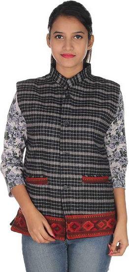 ARUNA KULLU HANDLOOM  Woolen Winter Wear  Jacket for Women
