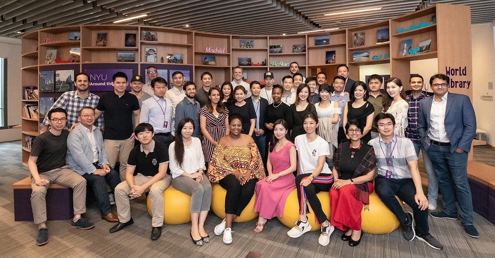 MSGF Class of 2018 at NYU Shanghai