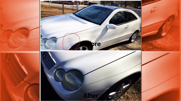 Paintless Dent Repair Yorktown VA