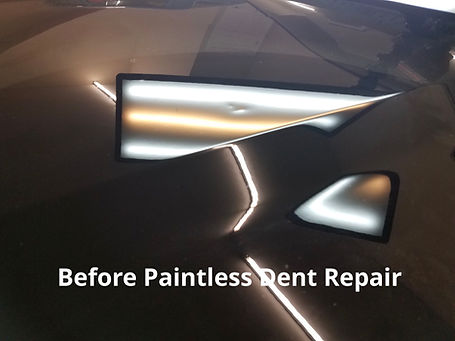 Before and After Dent Repair Virginia Beach