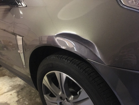 Large Dents fixed on site