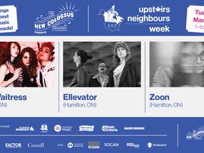 Upstairs Neighbours Week (Tue)