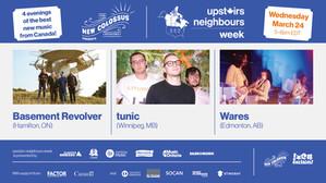 Upstairs Neighbours Week (Wed)