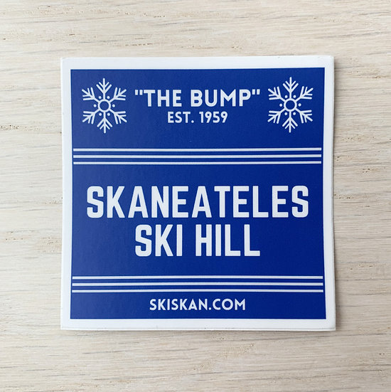 Skaneateles Ski Hill Sticker