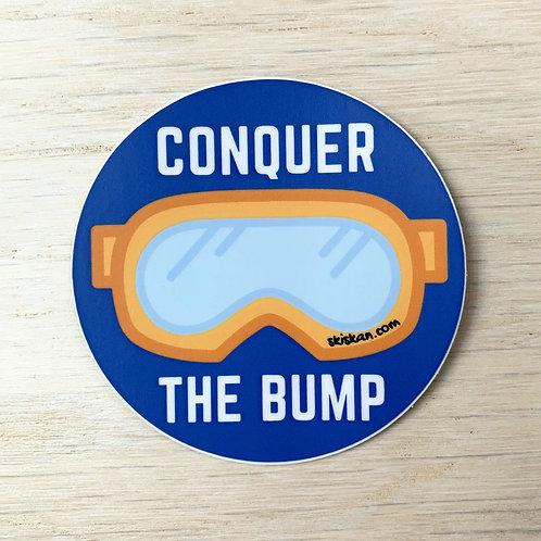 Conquer the Bump Sticker