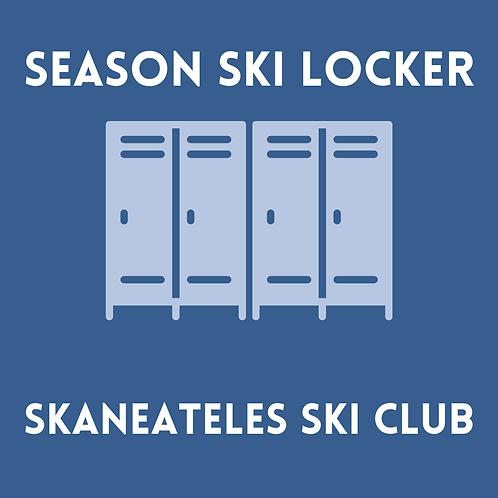 Season Ski Locker