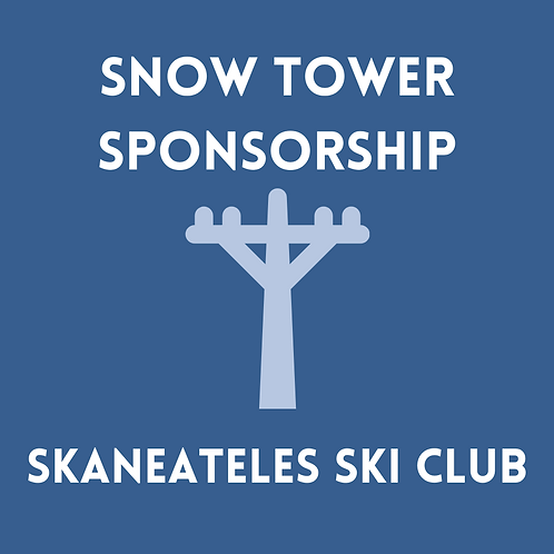 Single Season Snow Tower Sponsorship