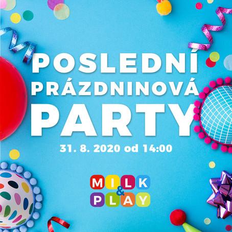 Poslední prázdninová párty!