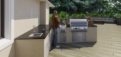 BBQ and Kitchen Area