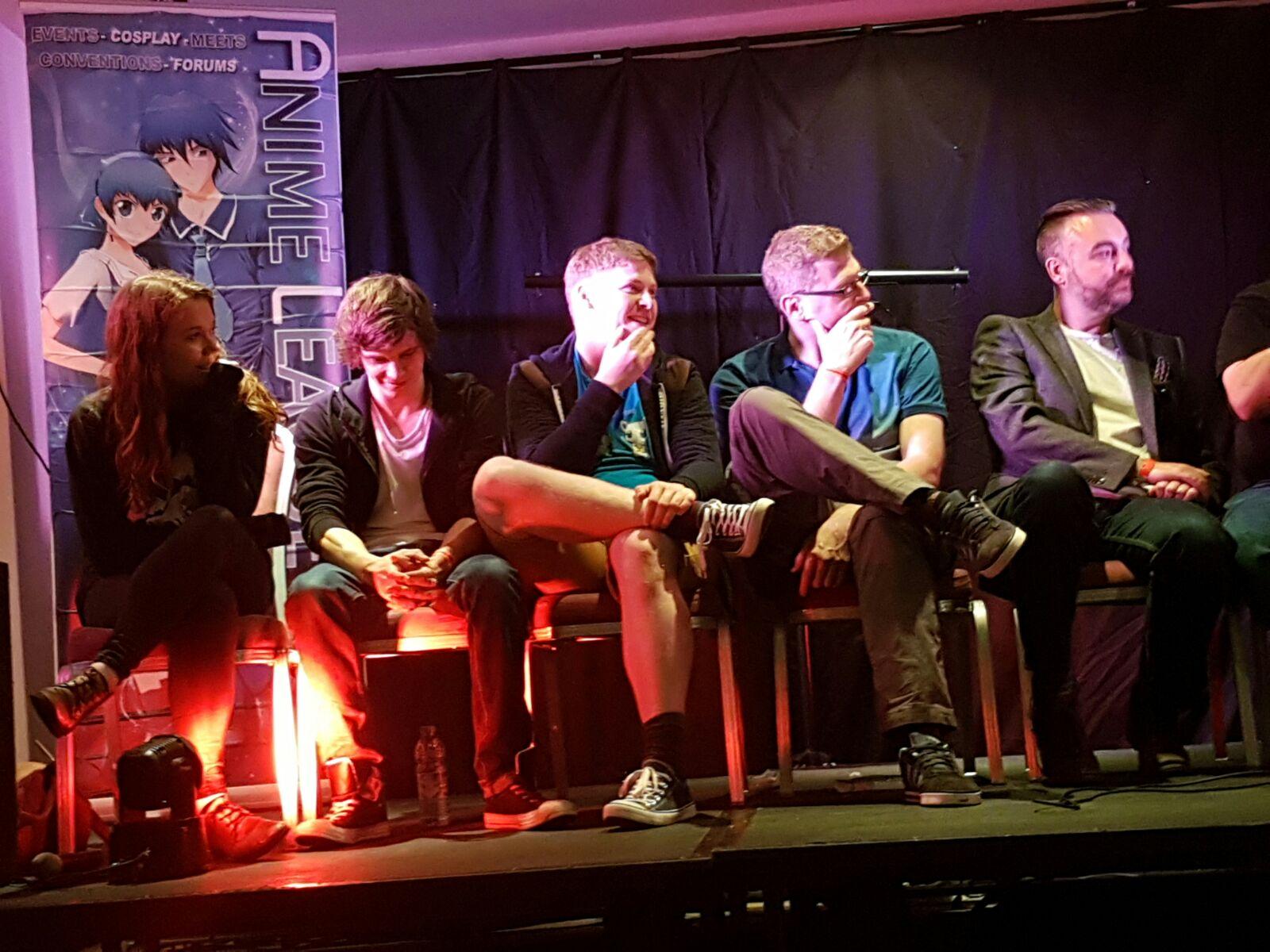 Cast & Crew Q&A Cardiff Anime Coni