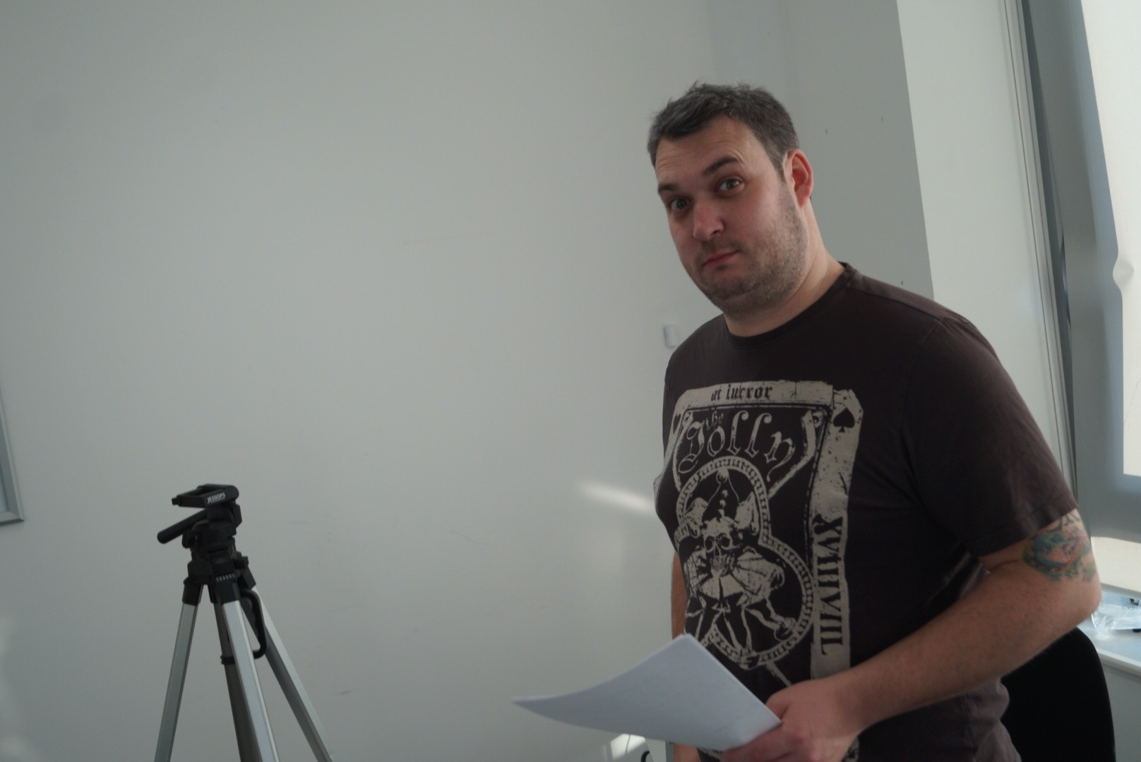 Shoot Day 2 - Director, Matt Fisher