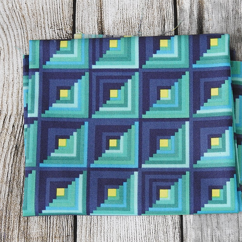 Blue Navy Squares
