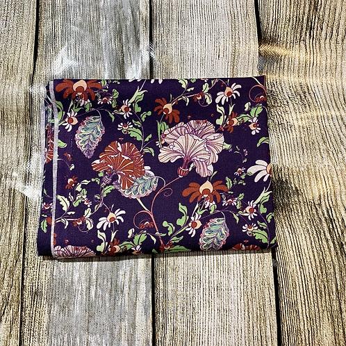 Violet Multi Colour Pretty Floral Pattern