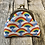Thumbnail: Rainbow Clouds Coin Purse with Matching Scrunchy