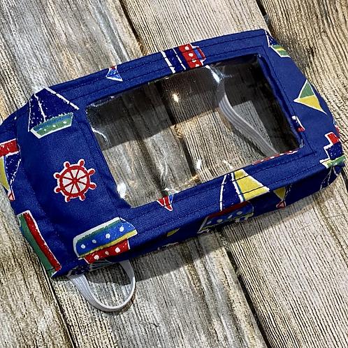 Blue Boat Pattern