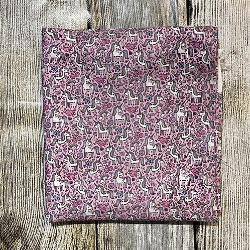 Pink Unicorns Pattern S/C