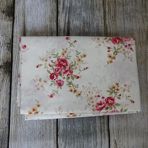 Ivory Floral Print Pre-O