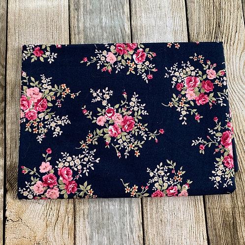 Navy Floral Print Pre-o