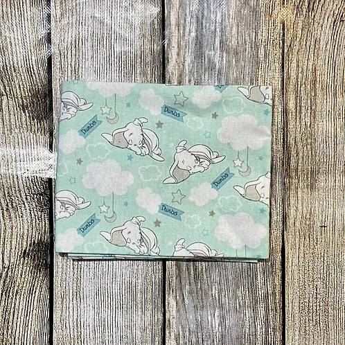 Light Green Sleeping Dumbo Pattern