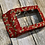 Thumbnail: Christmas Red or Green or Cream with Gold Shimmer Holly Pattern