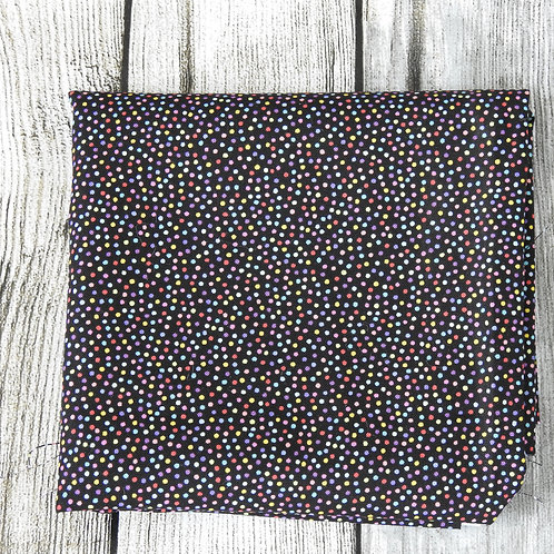 Black Rainbow Multi Dots