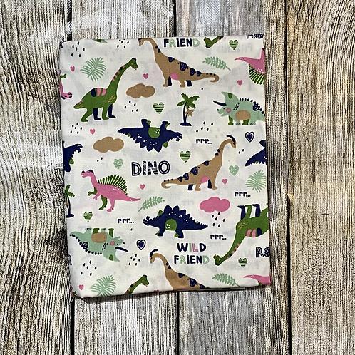 White Dino Pattern S/C