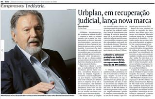 Urbplan, em recuperação judicial, lança nova marca.
