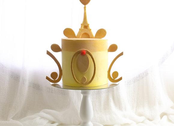 Paris Mon Amour Cake
