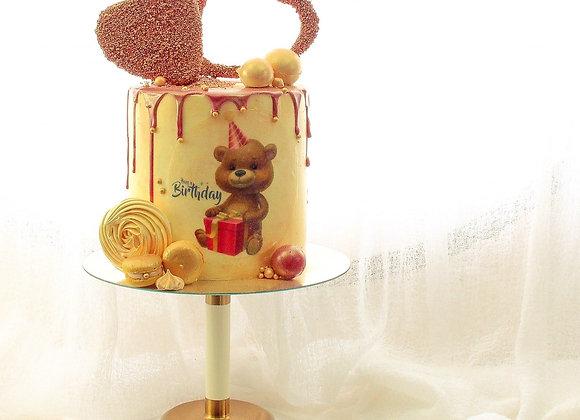 Ted Bear Cake