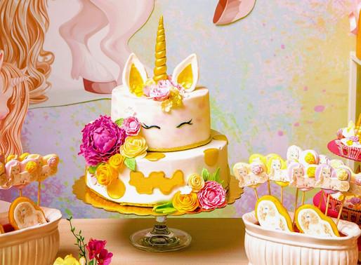 The Most Beautiful Unicorn Cake