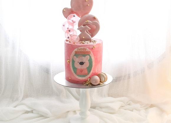Lullaby Pink Cake