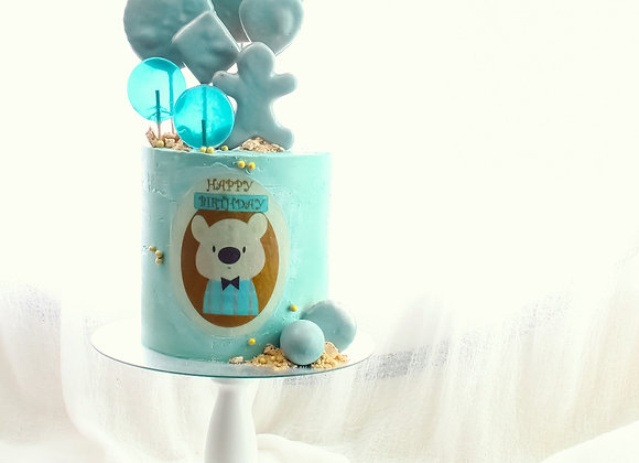 Lullaby Blue Cake