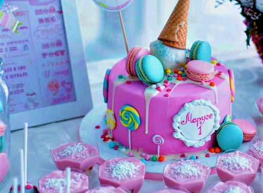 Ice Cream Birthday Cake is Rock!
