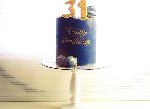 Deep Blue Cake