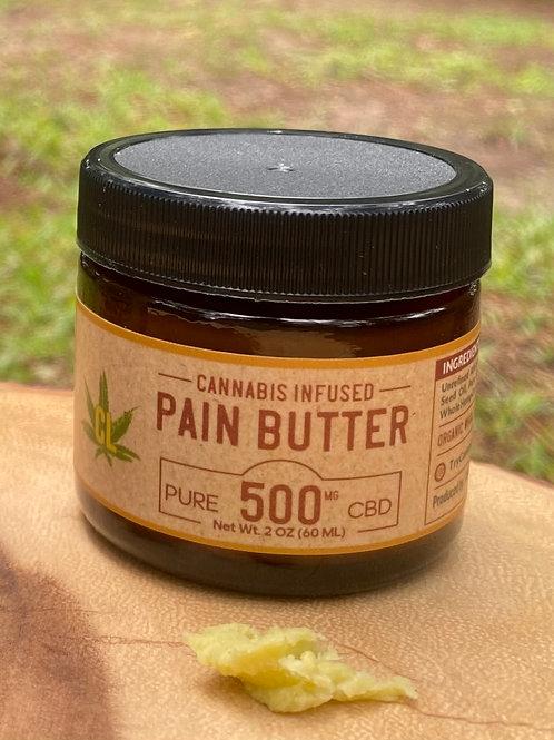 2oz Pain Butter 500mg