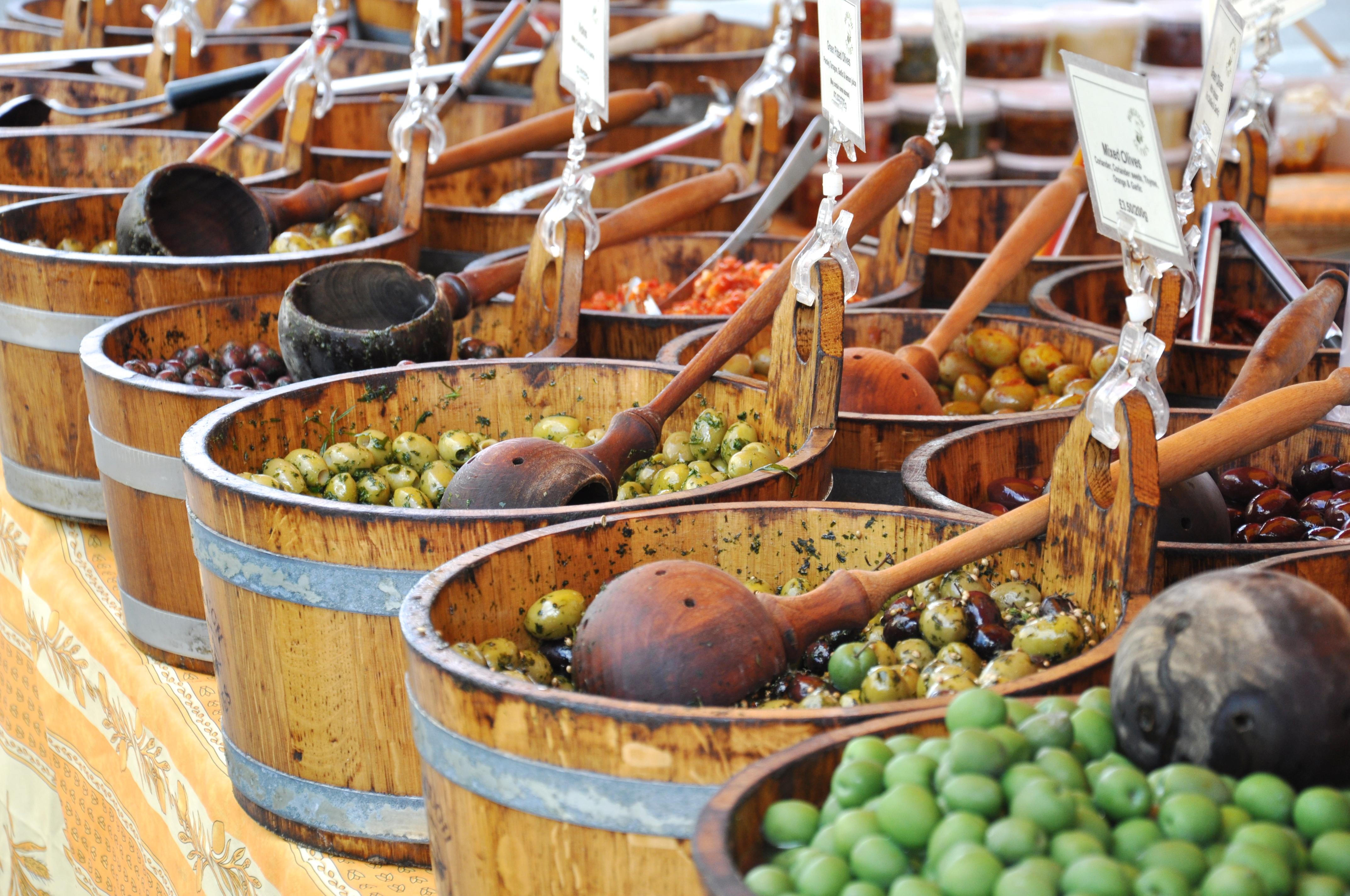 Broadway market olives