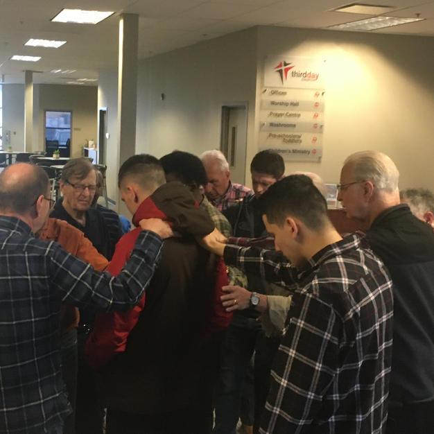 Man Up Prayer