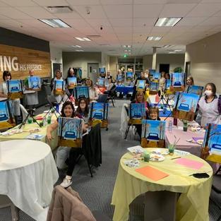 Ladies Painting Night