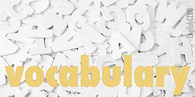 English Vocabulary - 9th +