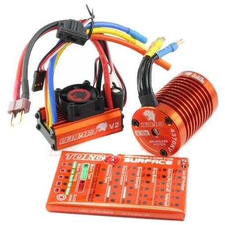 Programmering av motor og ESC.