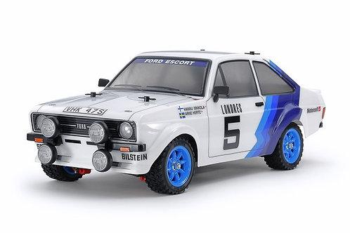 Ford Escort Mk.II Rally (Painted Body) - Tamiya 58687 - Rcbilen.no