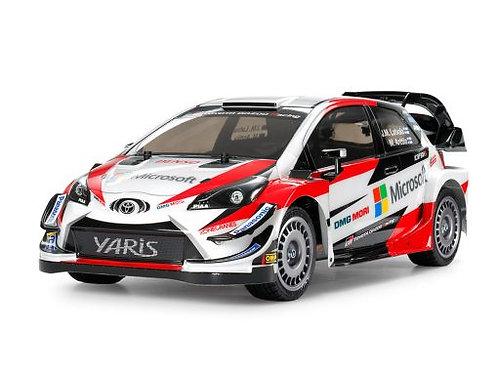 TOYOTA GAZOO WRT YARIS WRC (TT-02) Tamiya 58659 - Rcbilen.no