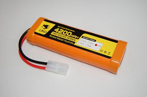 RACING PACK 4200mAh – 7.2v NiMH – Tamiya - Rcbilen.no