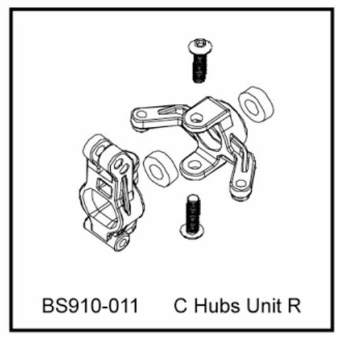C Hubs unit R - BS910-011 - Rcbilen.no