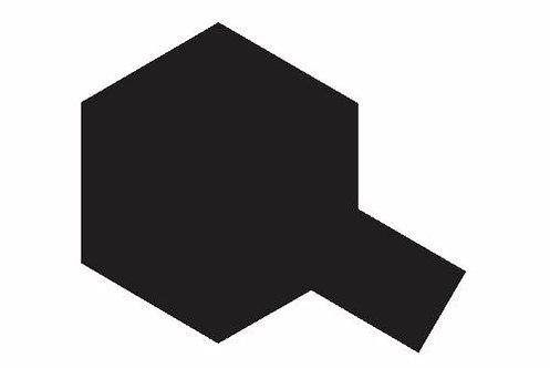 PS-5 Black. Polycarbonate Spray Tamiya 86005.