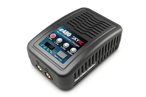 SkyRc E450 LiPo/Life/NiMh Lader 2-4S 50W 220V - Rcbilen.no