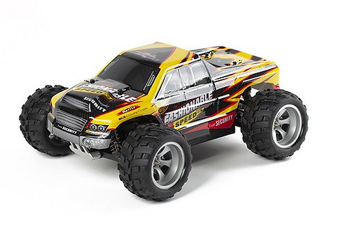 1:18 RC 4WD OFFROAD FASHIONABLE YELLOW - Rcbilen.no